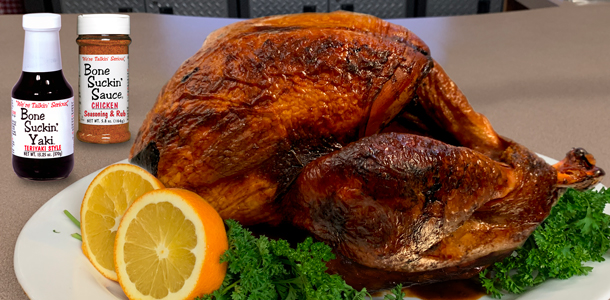 Yaki Turkey, Bone Suckin' Yaki Turkey Recipe