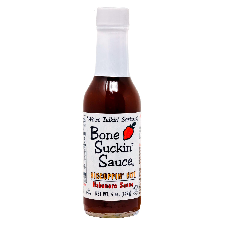 Bone Suckin' Sauce Hiccuppin' Hot Habanero Sauce 5oz.