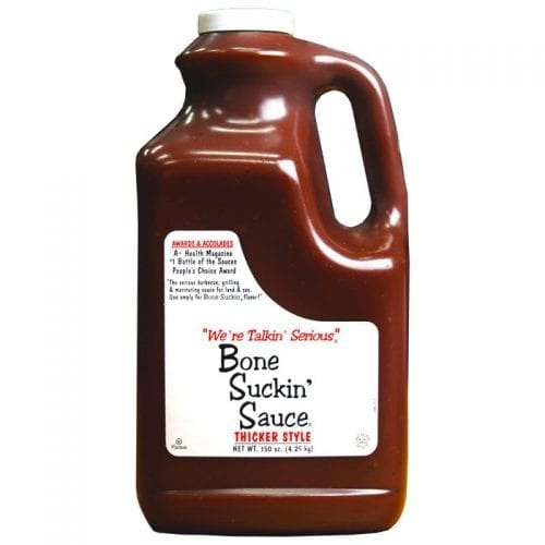 Thicker Style Bone Suckin' Sauce Gallon Jug