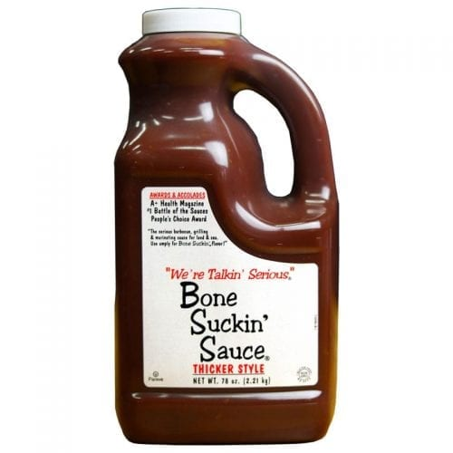 Bone Suckin' Sauce® Thicker Half Gallon Jug