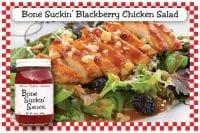 Bone Suckin Blackberry Chicken Salad