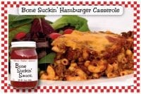 Bone Suckin Hamburger Casserole