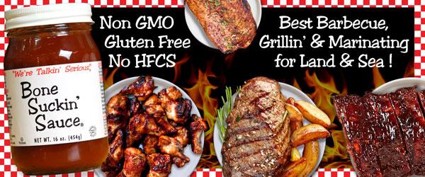Non GMO Gluten Free No HFCS
