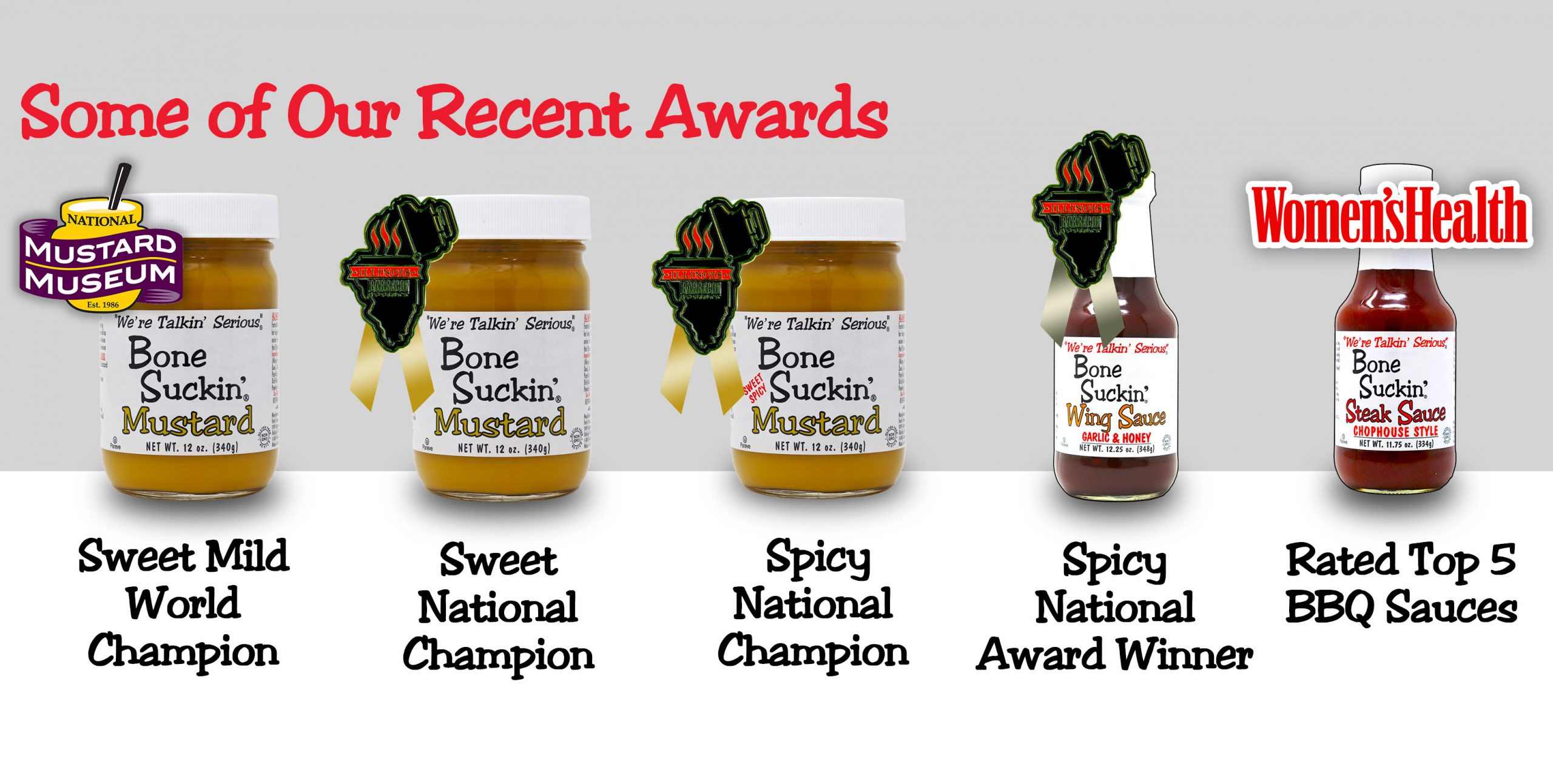 Bone Suckin' Sauce is Non Gmo, Gluten Free, No HFCS! Best Barbecue, Grillin' & Marinating for Land & Sea!