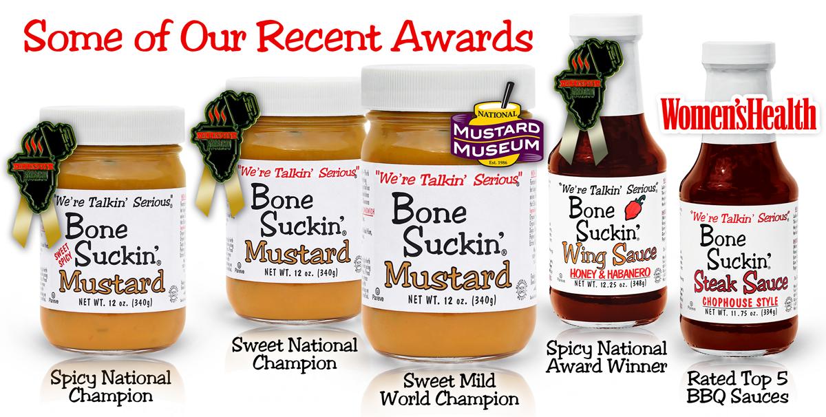 Bone Suckin' Sauce Award Winners